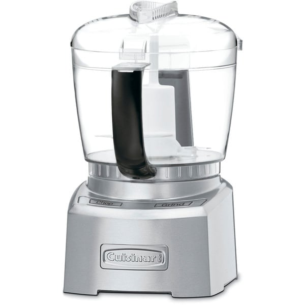 Cuisinart CH-4DCFR Silver 4-cup Elite Collection Chopper/ Grinder (Refurbished)