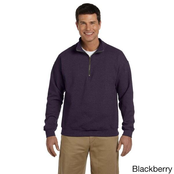 Gildan Men's Heavy Blend Vintage Classic Quarter-zip Cadet 8-ounce Collar Sweatshirt (As Is Item)