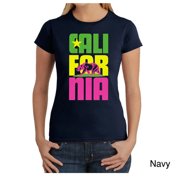 Women's California Short-sleeve Graphic T-shirt