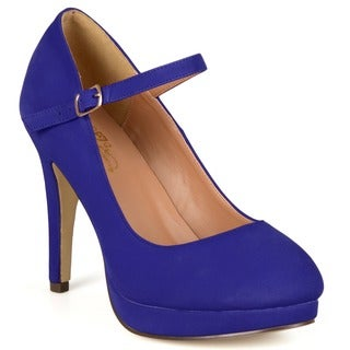 Journee Collection Women's 'Shelby' Platform Mary Jane Pumps