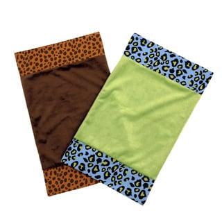 One Grace Place Jazzie Jungle Burp Cloth