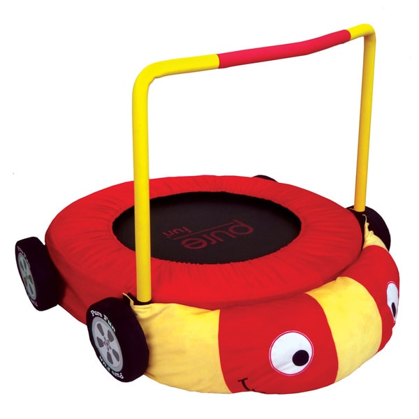Pure Fun Race Car Jumper Kids Trampoline