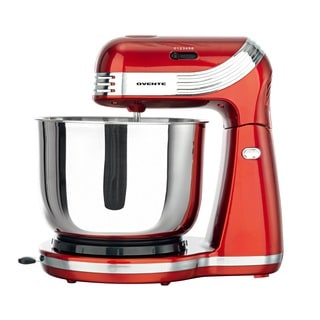 Ovente SM866 Red 6-speed Professional Stand Mixer