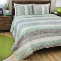 Paradise 3-piece Cotton Quilt Set