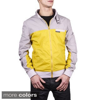 Men's Colorblock Bomber Jacket
