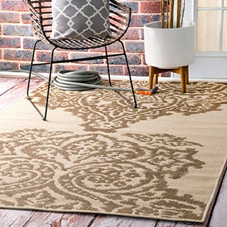 nuLOOM Indoor/ Outdoor Aperto Porch Rug (8' x 10')