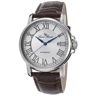 Lucien Piccard Women's LP-12393-02S-BR Rioja Silvertone Textured Watch
