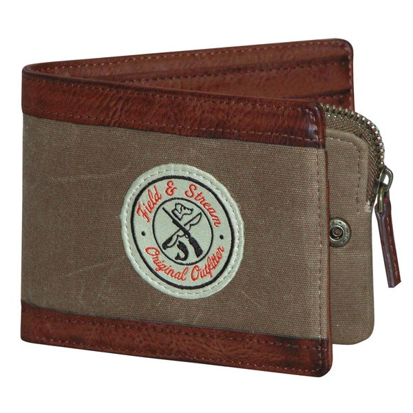 Field & Stream Jordan Tan Billfold Travel Wallet