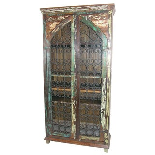 Rainforest Iron Jali Tall Cabinet
