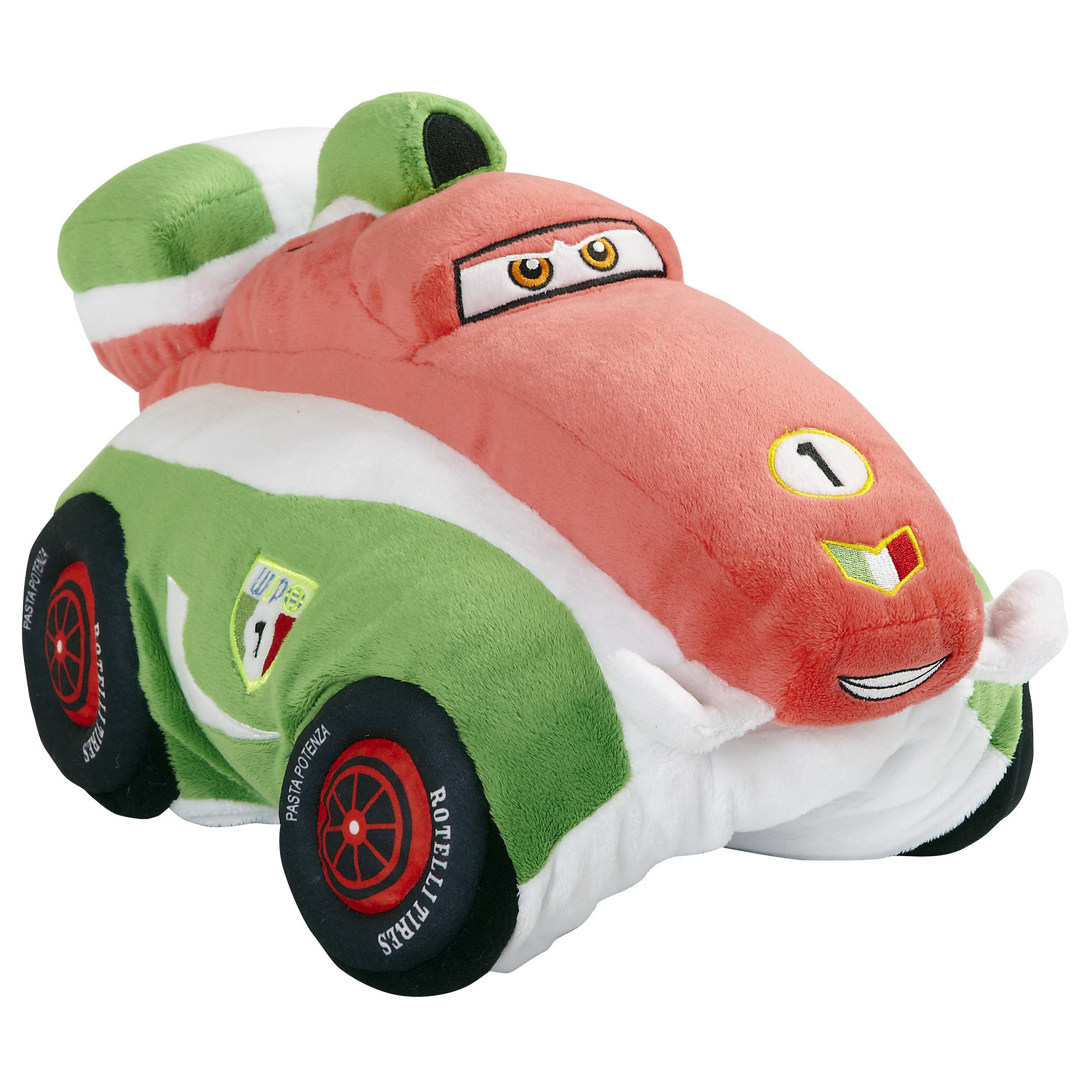 Overstock.com Pillow Pet 18-inch Disney's Cars Francesco Stuffed Animal at Sears.com