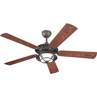 Monte Carlo 3-light 'Burnet' Ceiling Fan