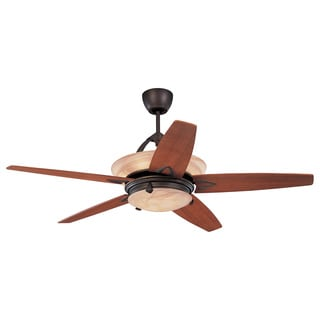 Monte Carlo 2-light 'Arch' Ceiling Fan