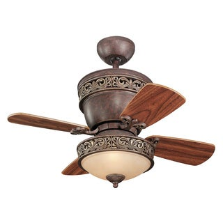 Monte Carlo 2-light Villager Ceiling Fan