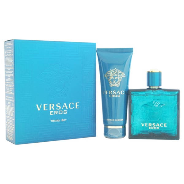 Versace Eros Men's 2-piece Gift Set