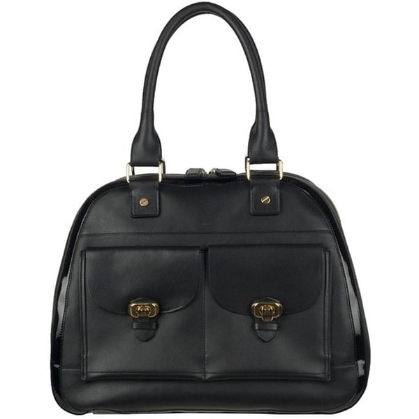 Chloe Black Leather Shopper (As Is Item)