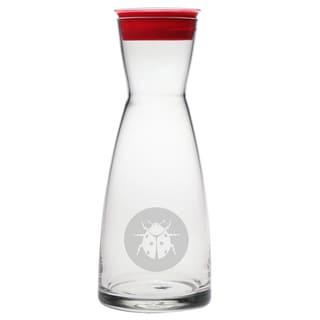 Glass Ladybug Carafe