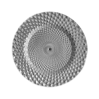 Istanbul 13-inch Silvertone Charger Plate