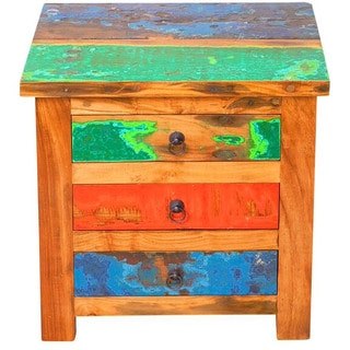 First Mate Reclaimed Wood Side Table