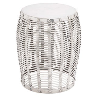 Cooper Solid Aluminum Drum Stool