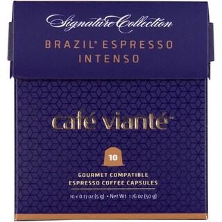 Cafe Viante Brazil Espresso Intenso Nespresso Compatible Coffee Capsules (Pack of 7)