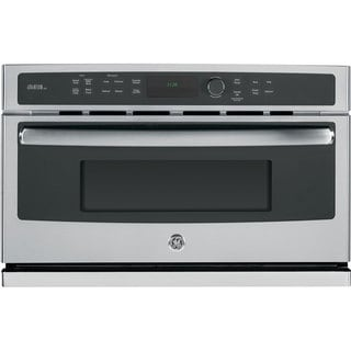 GE Stainless Steel Electric Speed Oven with 1.7 Cubic Feet Capacity