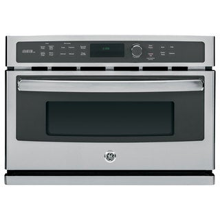 GE Stainless Steel 27-inch Electric Speed Oven