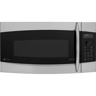 GE Over-the-Range Microwave Oven with 1.7 Cubic Feet Capacity