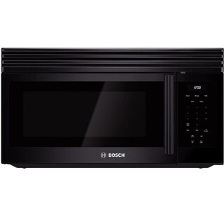 Bosch Black Over-the-Range 1.6 Cubic Feet Microwave Oven