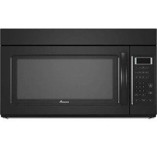 Amana Black Over-the-Range 1.7 Cubic Feet Microwave Oven