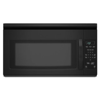 Amana Black Over-the-Range 1.5 Cubic Feet Microwave Oven