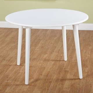 Simple Living White Florence Dining Table