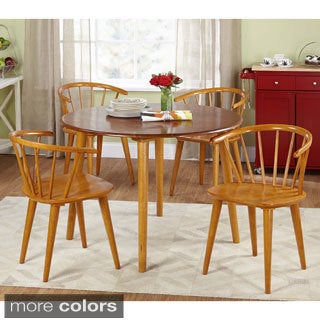 Florence 5-piece Wooden Dining Set