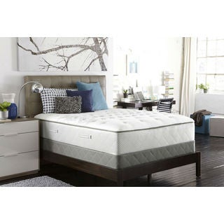 Sealy Posturpedic Gel Series Meadow Lea Plush Queen-size Mattress Set