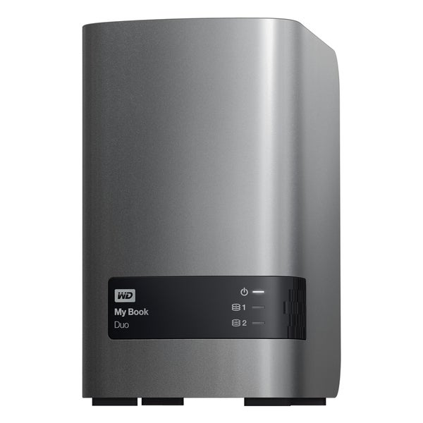 WD 4TB My Book Duo Desktop RAID External Hard Drive - USB 3.0 - WDBLWE0040JCH-NESN
