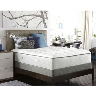 Sealy Posturpedic Gel Series Meadow Lea Plush Cal King-size Mattress Set