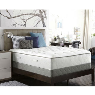 Sealy Posturpedic Gel Series Meadow Lea Plush Full-size Mattress Set