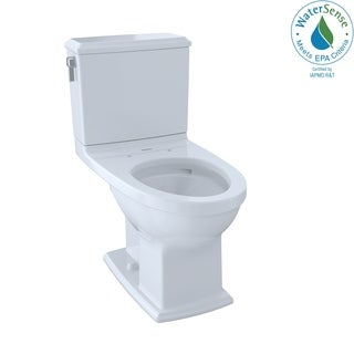 TOTO Drake II 2-piece Toilet with Elongated Bowl and Sanagloss
