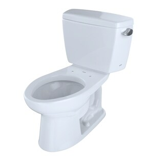 Toto CST744SFR.10No.01 Drake Two-piece Toilet with 1.6-GPF-Right Hand Trip Lever