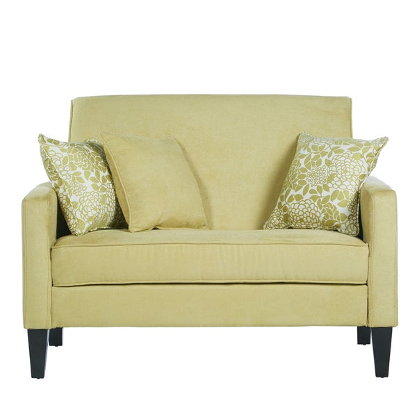 Angelo Home Sutton Lotus Green Loveseat 16357601 Shopping Great Deals On