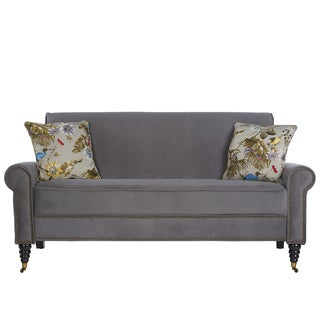 angelo:HOME Harlow Silver Grey Sofa