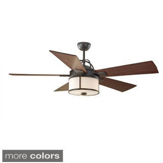 Monte Carlo Dakota 52-inch 2-light 5-blade Ceiling Fan