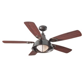 Monte Carlo Morton 1-light 52-inch Oil Can Ceiling Fan