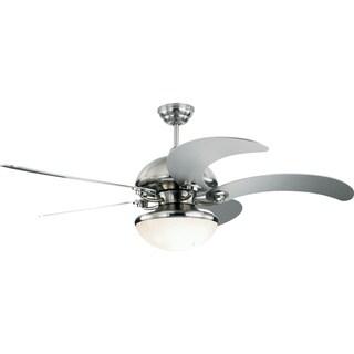 Monte Carlo Monte Carlo Centrifica 52-inch 5-blade Silver Ceiling Fan