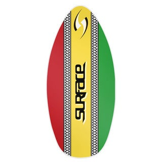 Surface 45-inch Wood Laminate Rasta Skim Board