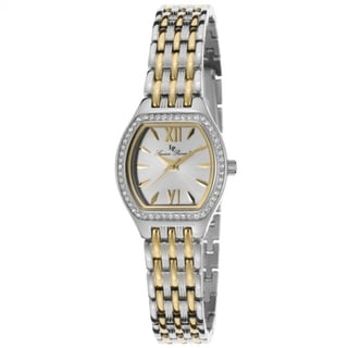 Lucien Piccard Women's LP-12124-SG-22S Clausis Silvertone Watch