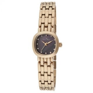 Lucien Piccard Women's LP-12012-RG-01MOP Teide Black Watch