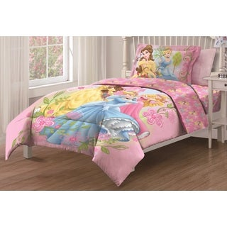 Disney Princess Royal Gardens Twin size 3-piece Comforter Set