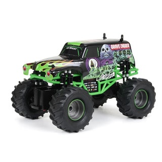 New Bright Remote Control Full Function Monster Jam Grave Digger