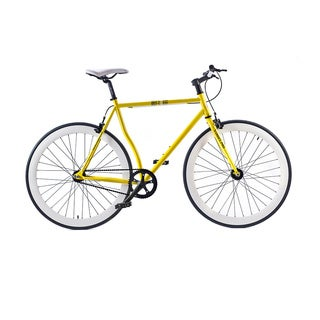 Belcheri Street Pro Yellow Fixed Gear Bicycle