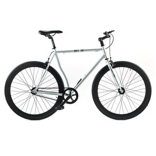 Belcheri Street Pro Silver Fixed Gear Bicycle